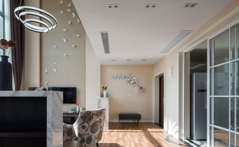 [杭州]四室两厅室内设计施工图CAD+效果图