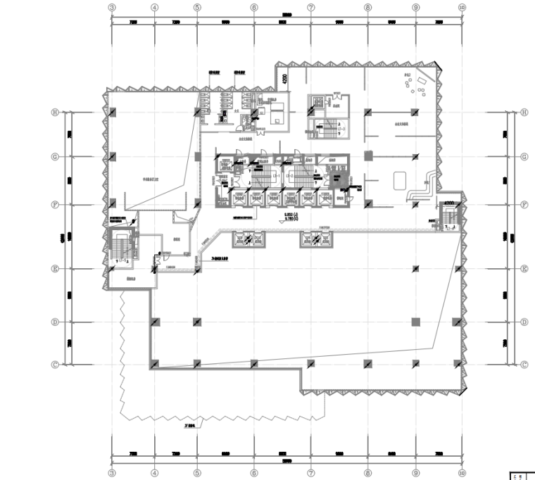 广东设计研发大楼电气施工图2021