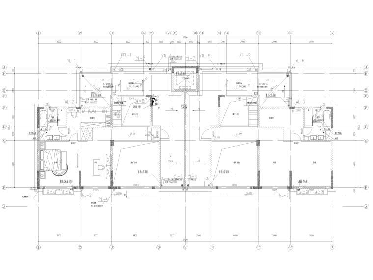 中铁|大型住宅组团12#楼给排水施工图2019