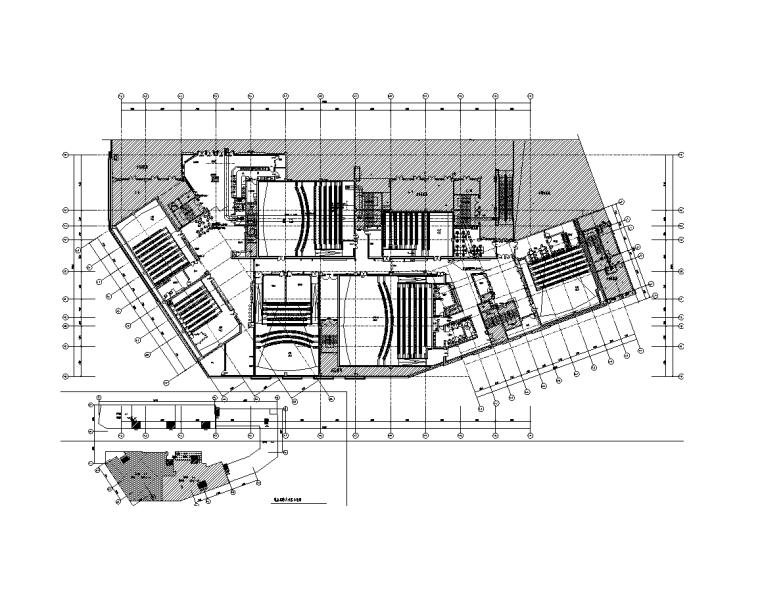 四川省影院内装项目暖通施工图