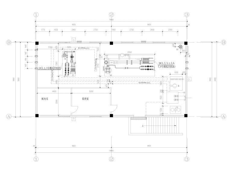 地产供热工程换热站工艺施工图