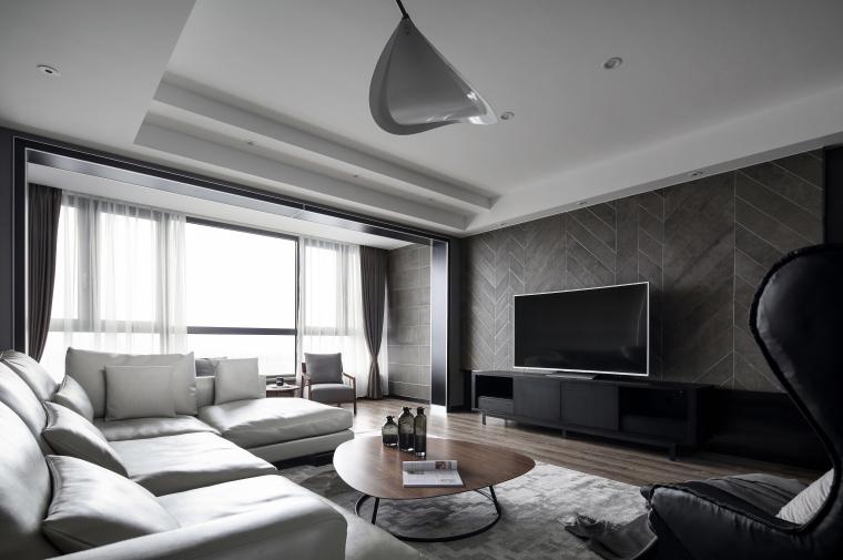 [无锡]现代二室两厅室内施工图CAD+效果图