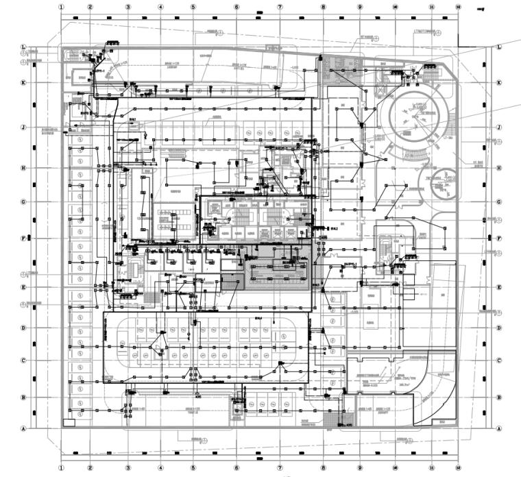 智能化设计研发大楼弱电施工图2021全套图纸