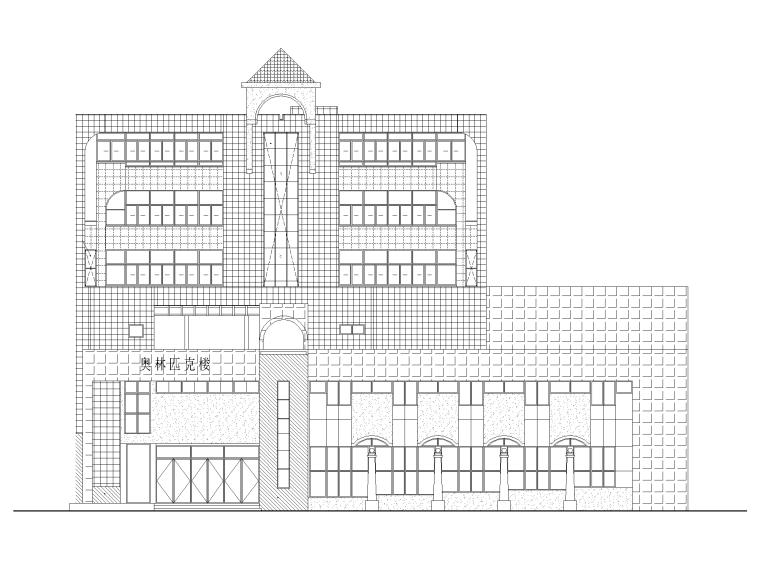 教学楼改造工程图纸+招标文件