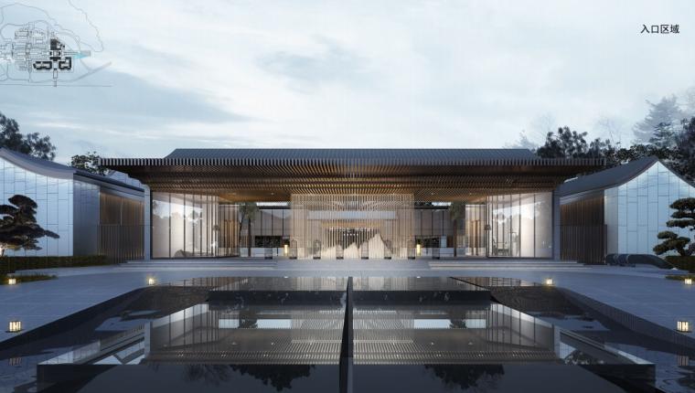 [江苏]现代极简-国际五星级酒店建筑方案