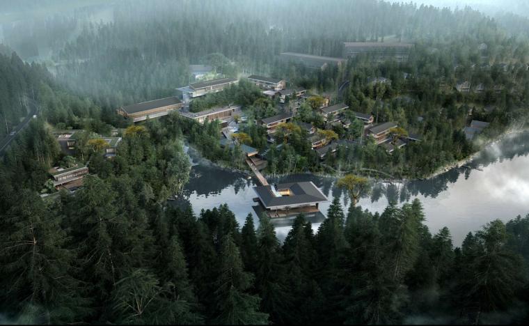 [福建]中式风格-滨江山地酒店建筑设计
