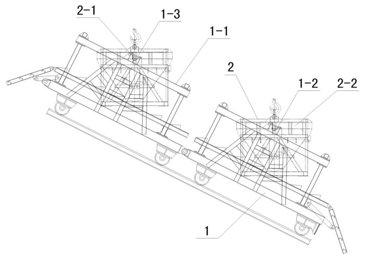 自动平衡砼供料罐车实用新型专利