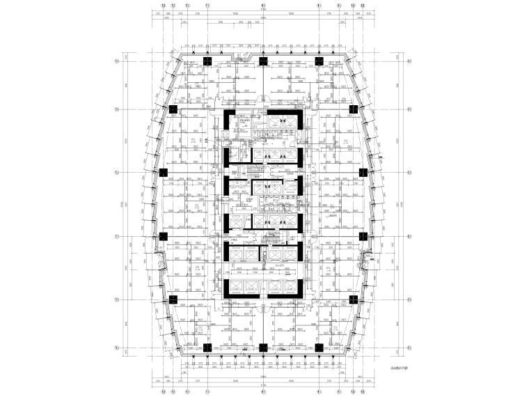 湖北53层超高层商业综合体给排水施工图