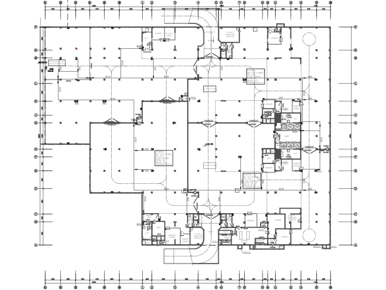 框架剪力墙结构教学楼消防给水施工图2020