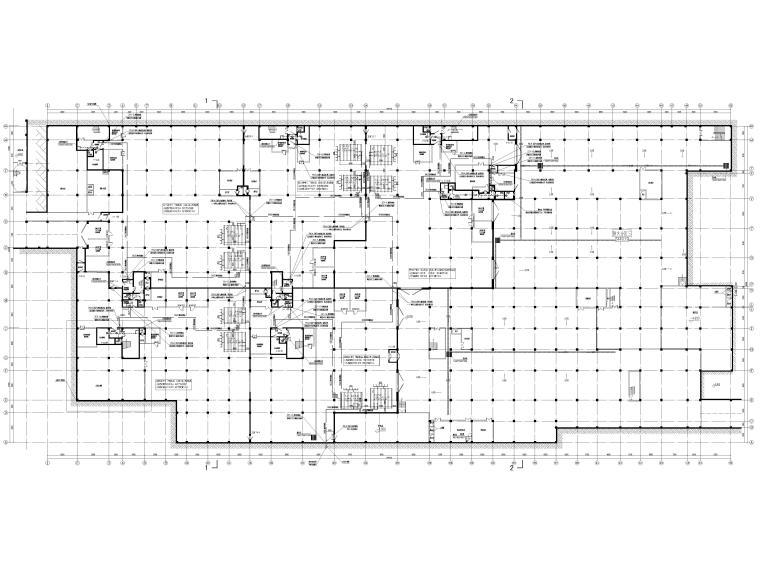 [贵州]中学人防地下室给排水施工图