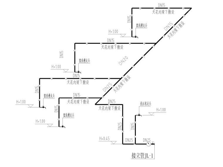 学校宿舍室内翻新改造工程图纸+工程量清单
